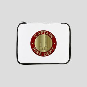 "Fire captain emblem bugles 13"" Laptop Sleeve"