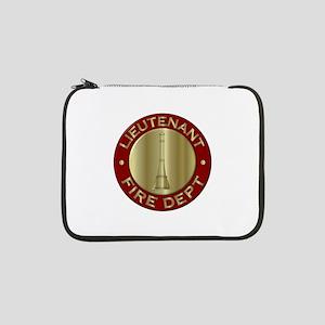 "Lieutenant fire department symbo 13"" Laptop Sleeve"