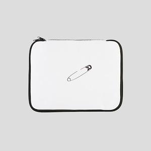 "Safety Pin 13"" Laptop Sleeve"