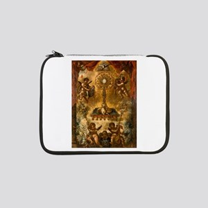 """Allegory of the Eucharist 13"""" Laptop Sleeve"""
