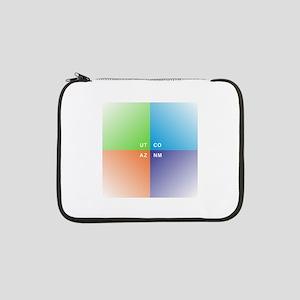 "Four Corners - 4 Corners 13"" Laptop Sleeve"
