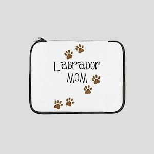 "Labrador Mom 13"" Laptop Sleeve"