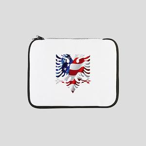 """Albanian American Eagle 13"""" Laptop Sleeve"""