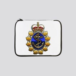 """CF Naval Operations Command 13"""" Laptop Sleeve"""