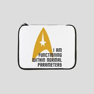 """Star Trek - Normal Parameters 13"""" Laptop Sleeve"""