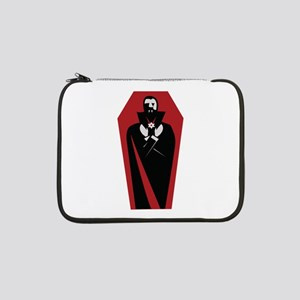 """Draculas Coffin 13"""" Laptop Sleeve"""
