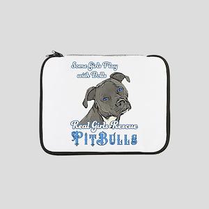 "Real Girls Rescue Pitbulls 13"" Laptop Sleeve"