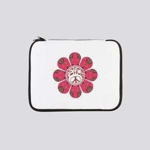 "Peace Flower - Affection 13"" Laptop Sleeve"