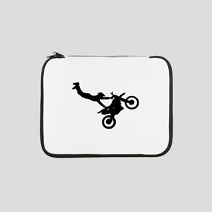 "motorcross bike jumping 13"" Laptop Sleeve"
