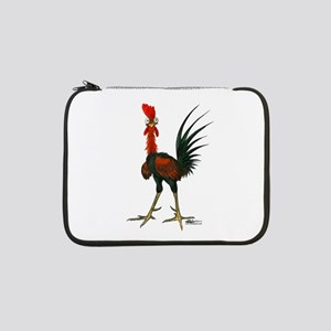 "Crazy Rooster 13"" Laptop Sleeve"