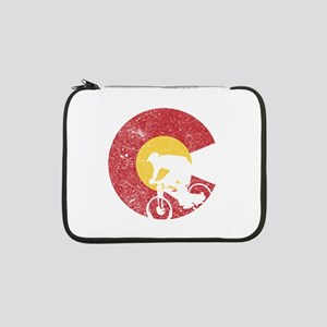 "Mountain Bike Colorado 13"" Laptop Sleeve"