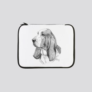 "Basset Hound 13"" Laptop Sleeve"