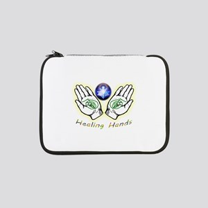 "Healing hands 13"" Laptop Sleeve"