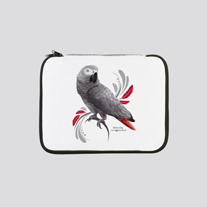 "African Grey Parrot 13"" Laptop Sleeve"