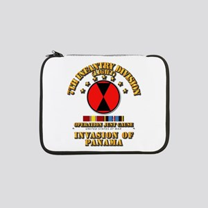 """Just Cause - 7th Infantry Divisi 13"""" Laptop Sleeve"""