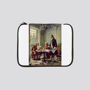 """Declaration of Independence 1776 13"""" Laptop Sleeve"""