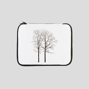 """Brown Trees 13"""" Laptop Sleeve"""