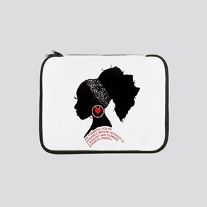 "A QUEN BEAUTIFUL STRUGGLE 13"" Laptop Sleeve"