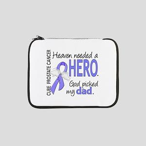 "Prostate Cancer HeavenNeededHero 13"" Laptop Sleeve"