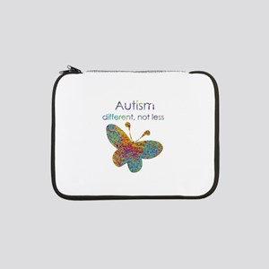 """Autism: different, not less 13"""" Laptop Sleeve"""