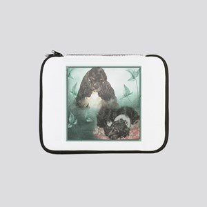 "Tri-Cocker Spaniel 13"" Laptop Sleeve"