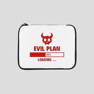 "Evil Plan Loading 13"" Laptop Sleeve"