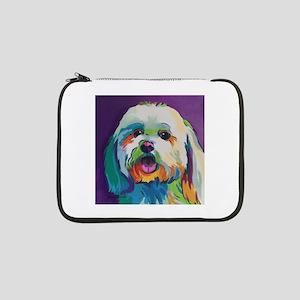"Dash the Pop Art Dog 13"" Laptop Sleeve"