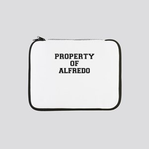 "Property of ALFREDO 13"" Laptop Sleeve"