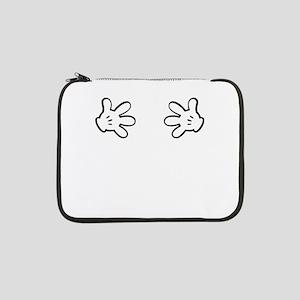 "Mickey hands 13"" Laptop Sleeve"