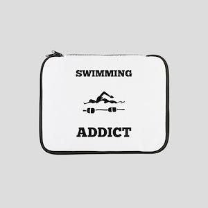 "Swimming Addict 13"" Laptop Sleeve"