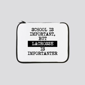"Lacrosse Is Importanter 13"" Laptop Sleeve"