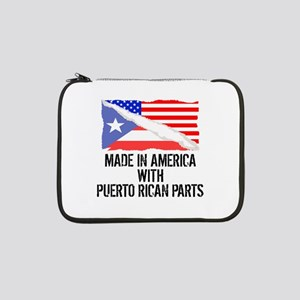 """Made In America With Puerto Rican Parts 13"""" Laptop"""