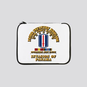 """Just Cause - 193rd Infantry Bde 13"""" Laptop Sleeve"""
