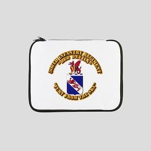 "COA - 508th Infantry Regiment 13"" Laptop Sleeve"