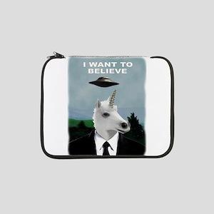 "UFOs and Unicorns 13"" Laptop Sleeve"