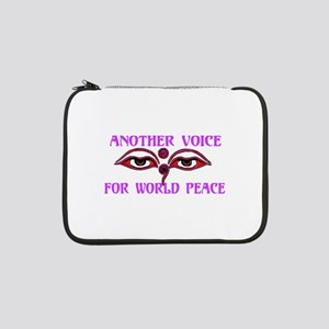 """Voice For Peace 13"""" Laptop Sleeve"""
