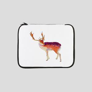 """Christmas Reindeer 13"""" Laptop Sleeve"""