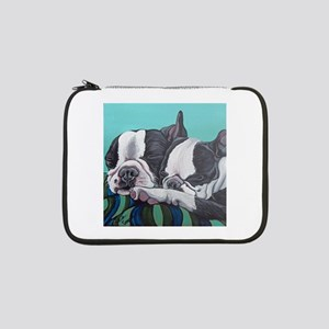 "Boston Terrier 13"" Laptop Sleeve"