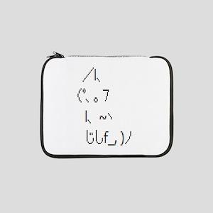 """Text cat 13"""" Laptop Sleeve"""