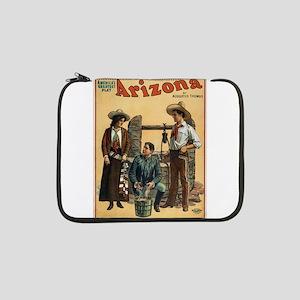 "Vintage poster - Arizona 13"" Laptop Sleeve"