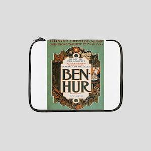 "Vintage poster - Ben-Hur 13"" Laptop Sleeve"