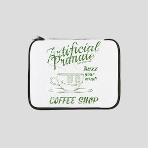 """Vintage coffee shop 13"""" Laptop Sleeve"""