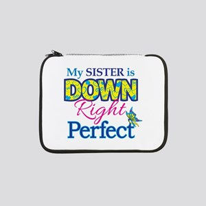 """Sister_Down_Rt_Perfect 13"""" Laptop Sleeve"""