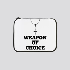 """Weapon of Choice 13"""" Laptop Sleeve"""