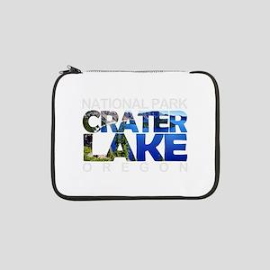 """Crater Lake - Oregon 13"""" Laptop Sleeve"""