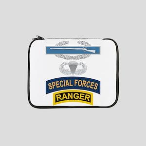 "CIB Airborne SF Ranger 13"" Laptop Sleeve"