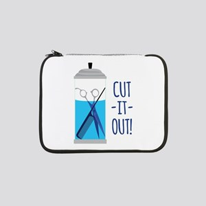 "Cut-It-Out 13"" Laptop Sleeve"