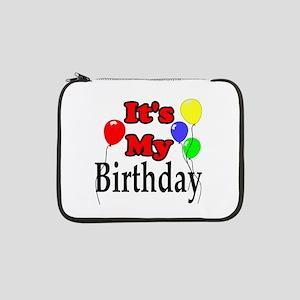 "Its My Birthday 13"" Laptop Sleeve"