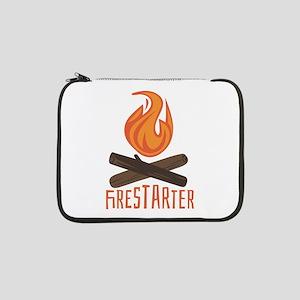 """Firestarter Campfire 13"""" Laptop Sleeve"""