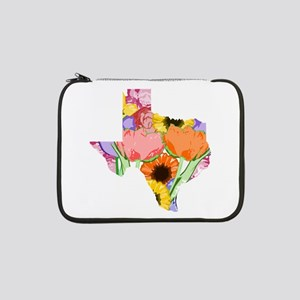 "Floral Texas 13"" Laptop Sleeve"